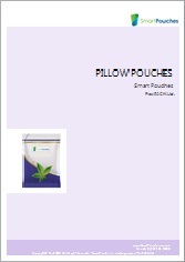 Pillow flat pouches brochure.