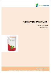 Spouted stand up pouches brochure.