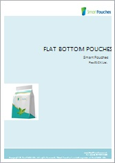 Flat bottom pouches brochure.