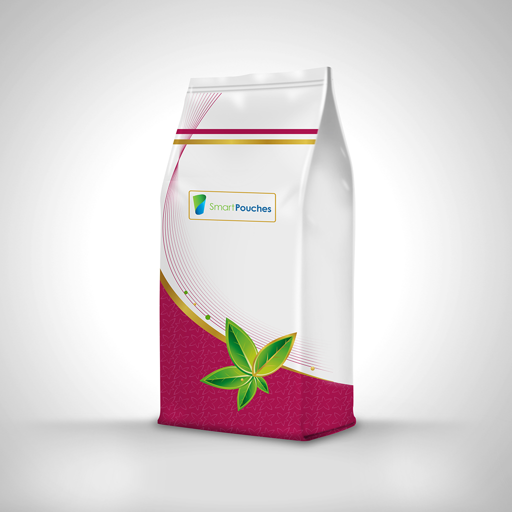 Side gusset pouches are ideal for modified atmosphere packaging and on shelf product differentiation.