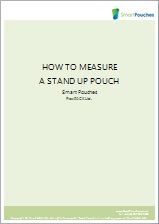 A step by step guide on how to measure a stand up pouch in a broaches