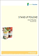 Stand up pouches brochure.