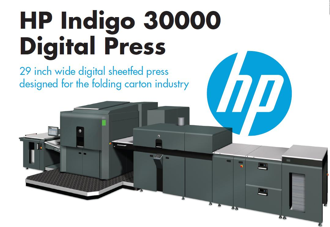 HP Indigo 30000 Digit Printing machine